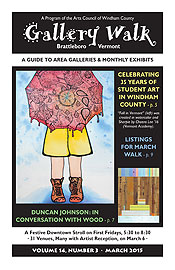 March '15 Gallery Walk Cover
