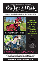 April '15 Gallery Walk Cover