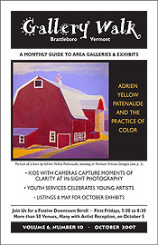 October '07 Gallery Walk Cover