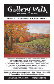 October '08 Gallery Walk Cover