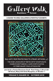 October '10 Gallery Walk Cover