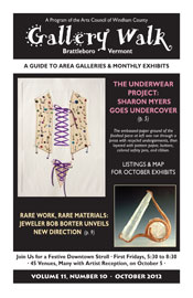 October '12 Gallery Walk Cover