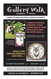 October '16 Gallery Walk Cover
