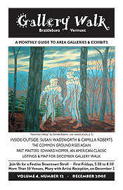 December '05 Gallery Walk Cover