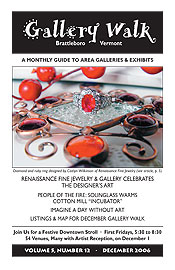 December '06 Gallery Walk Cover