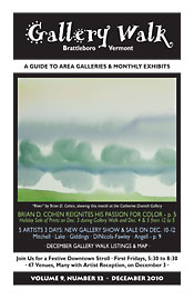 December '10 Gallery Walk Cover