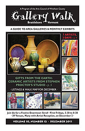 December '11 Gallery Walk Cover