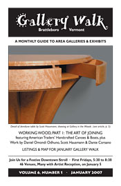 January '07 Gallery Walk Cover