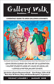 January '08 Gallery Walk Cover
