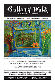 January '09 Gallery Walk Cover