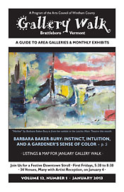 January '13 Gallery Walk Cover