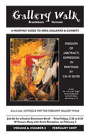 February '07 Gallery Walk Cover