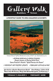 February '08 Gallery Walk Cover