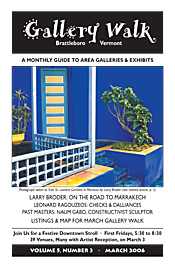March '06 Gallery Walk Cover