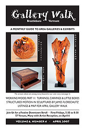 April '07 Gallery Walk Cover