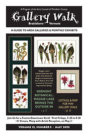 May '13 Gallery Walk Cover