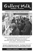 July '03 Gallery Walk Cover