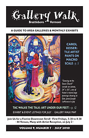 July '10 Gallery Walk Cover