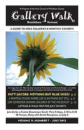 July '12 Gallery Walk Cover