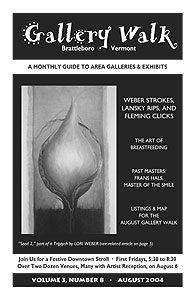 August '04 Gallery Walk Cover