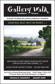 August '09 Gallery Walk Cover