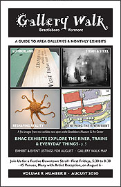 August '10 Gallery Walk Cover