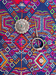 Fabric and fasteners from Bhutan