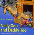 Nelly Gnu by Anna Dewdney at Brooks Library