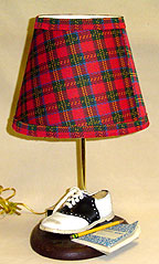 Schoolgirl lamp by Dianne Shapiro