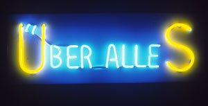 Neon sign by Nye Ffarrabas
