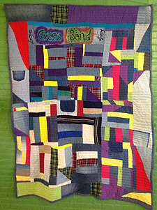 A Gees Bend quilt
