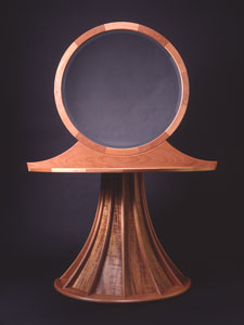 Mirror table by Scott Hausmann