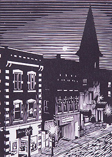 Brattleboro Moon by William Hays