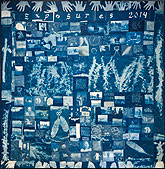 Quilt made from Exposures photography