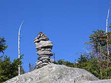 Photo of cairn rock formation by Patti Jacobs