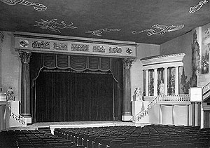Main theater in its heyday