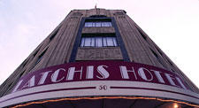 Latchis hotel sign