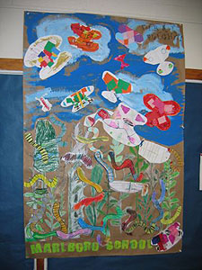 Mural by Marlboro Elementary students
