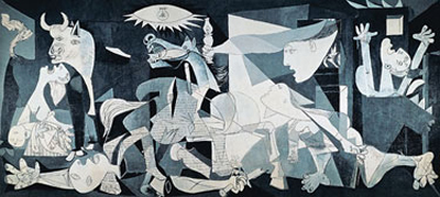 Picasso's Guernica mural