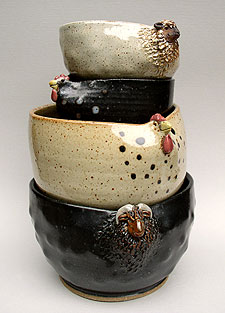 Bowls by Clauda Teachman