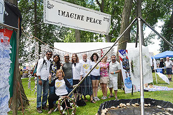 B4 Peace Team at Clearwater Festival