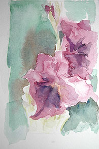 Watercolor by Arlene Distler