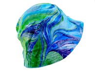 Marbleized bucket hat by Paula Lavender