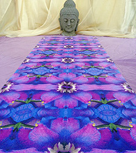 Symmagery Yoga Mat by Tara Gordon at Vermont Artisan Designs