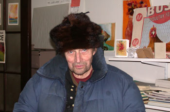 Ric in fur hat