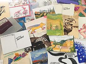 Postcard exhibit and sale at RGS
