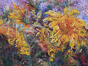 Sunflowers by Susan Berry Taylor
