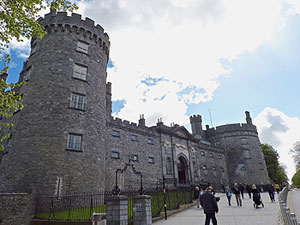 Irish castle photo by Ladd Butler